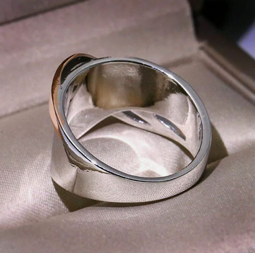 Silver Hand Ring
