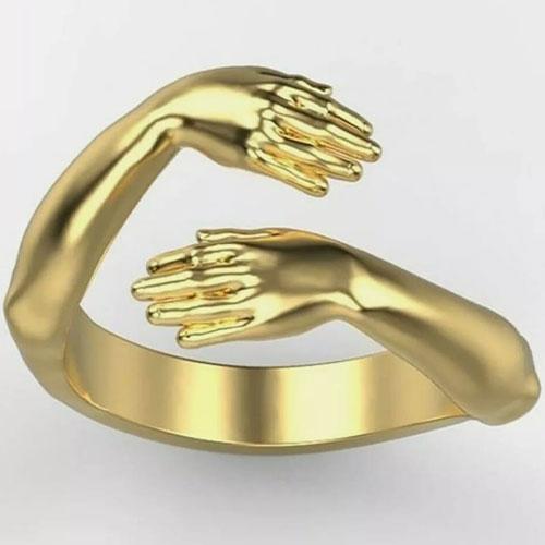 Beautiful golden ornamental